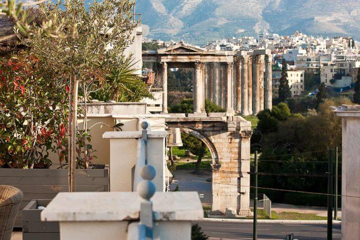 balcony view ava athens